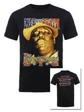 Biggie Smalls Life After Death Official Notorious BIG Black Mens T-shirt