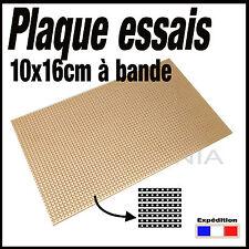 922C# plaque d'essais à bande format 16x10cm   -- breadboard PCB