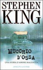 """MUCCHIO D'OSSA """" STEPHEN KING - Romanzo Ediz. Sperling e Kupfer - Anno 1999"""