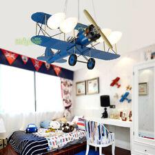 Airplane Chandelier Pendant Lamp Aircraft Children Kids Room Ceiling Lamp