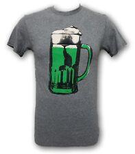 Irish Green Beer Mug Men's T-shirt Tee NWT