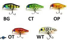 Leurre poisson nageur crankbait Glass Baby Crank 35mm 2gr pêche truite chevesne