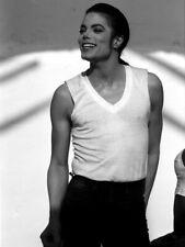 Michael Jackson Amazing Rare BW Portrait Handsome Giant Print POSTER Affiche