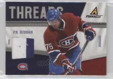 2011-12 Pinnacle Threads Prime #90 PK Subban Montreal Canadiens P.K. Hockey Card
