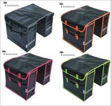 Fahrrad Satteltasche Doppeltasche Gepäckträgertasche Wasserdicht LYNX NEU