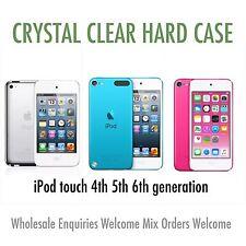 Ipod Touch 4ª 5ª Sexta Generación Cristal Transparente Delgada Funda Rígida al por mayor