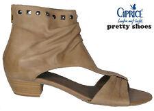 CAPRICE Römersandalen Sandaletten  beige echt Leder NEU