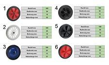 Dörner & Helmer PVC-Rad Reifen Räder Ersatzrad Rasenmäher Grill Rillenprofil