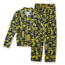 Video Game Pajamas Boys Size 8 Medium Gamer Shirt/Pant set Gaming Winter NEW NWT