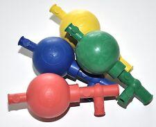 PELEUSBALL Pipettierball bis 10/100 ml Naturkautschuk Pipetten Labor Ball