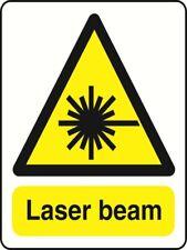 LASER BEAM - health and safety warning Sign - WARN258 sticker