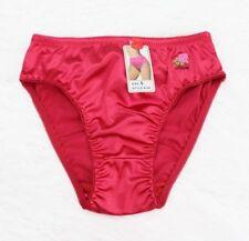 GRACE sissy liquid SATIN Embroidered Wetlook SHINY Bikini panties  XL 2XL 3XL