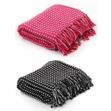 vidaXL Couverture Coton à Carrés Chaise Canapé Lit Multi-taille Multicolore