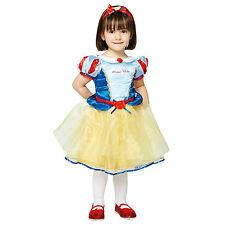 Disney Princesa Blancanieves Vestido Libro Semana Disfraz Bebé Niño 3 - 24 mes