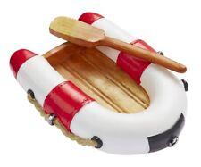 Mini Schlauchboot rot oder blau, ca. 7 x 5 cm, Miniatur für Gutschein etc.