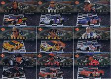 1998 Upper Deck Victory Circle PREDICTOR PLUS CEL #PR+8 Hut Stricklin BV$2!!