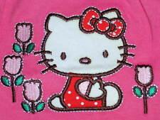 Baby Mädchen Hello Kitty Katze langarm Shirt Bluse rosa Gr. 68 oder 74 NEU