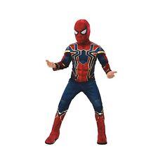 Iron Spider-Man MUSCLE Costume S Small 4-6 Child Boy Halloween