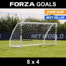 FORZA Match Football Goal | 8ft x 4ft | Under 10s Goal | PVC Match Goal | Goals