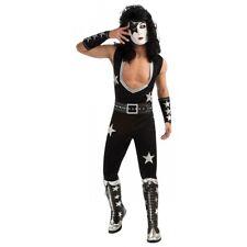 Starchild KISS Costume Adult Paul Stanley Rockstar Halloween Fancy Dress