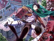 Levi Shingeki no Kyojin Attack on Titan Anime Huge Giant Wall Print POSTER