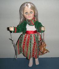 "Vintage 1983 Effanbee Dolls  Wonderful World Gretel Collectible Doll 11"" Vinyl"