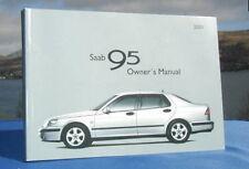 New Rare Original Saab 95 Handbook Owners Manual 2001