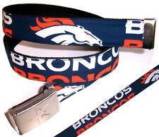 Denver Broncos BELT Buckle Pro Football Fan Game Gear Hat NFL Shop Team Apparel