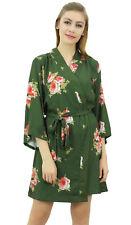 Floral Georgette demoiselle d'honneur de Bimba femmes Robe verte Coverup Wrap