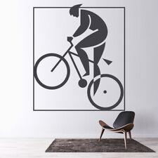 Zarys rowerowy i rowerowy Rower sportowy Naklejka Na ścianę WS-19288