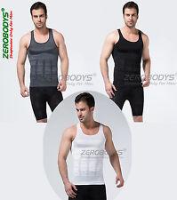 ZEROBODYS MEN'S SLIMMING SHIRT AND MALE BODY SHAPER VEST / T-SHIRT
