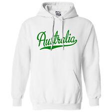 Australia Script & Tail HOODIE - Hooded Sweatshirt Aussie - All Sizes & Colors