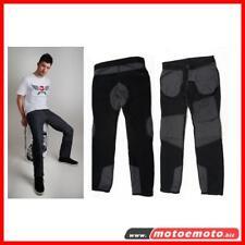 Esquad Pantaloni Jeans Moto 13 Jackson Blu Kevcor + Protezioni Anca Ginocchia