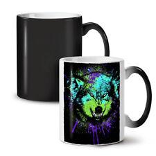 PREDATOR WOLF Faccia NUOVO colore modifica Tè Tazza Da Caffè 11 OZ | wellcoda