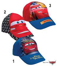 Disney Cars Kinder Cap Basecap Kappe Mütze Kopfbedeckung Größe 52 - 54 NEU