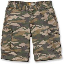 Carhartt Shorts Rugged Cargo Camo Short Rugged Khaki Camo
