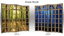 Separè Dream Woods   Parete divisoria BIFACCIALE 3 o 4 ante paravento