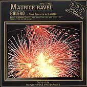 Ravel: Bolero; Piano Concerto in G major (CD, Sep-1994, World<Factory Sealed