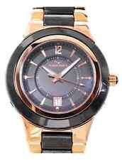 AQUASWISS Men's Stainless Steel & Ceramic Brand New Watch w/Date Retail: $1,400