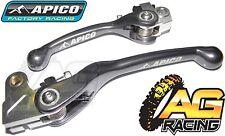 Apico Flexi Lever Set Titanium Clutch Lever Brake Lever For HondaCRF 450R 02-03