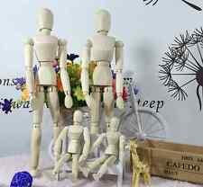 Artist Movable Limbs Wooden Figure Model Mannequin Art Class Draw Sketch Paint