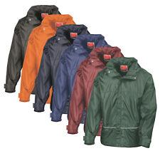 Orange bleu vert rouge enfants garçons filles veste imperméable à capuche Coach