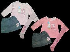 Holly hobbie sarah kay set Combi jupe shirt collant jupe 68 74 80 86 92