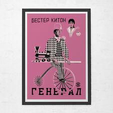 RUSSIAN AVANT GARDE Poster  - Buster Keaton Poster - Soviet Constructivism Art,