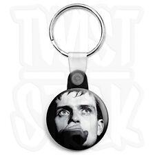 Joy Division - Ian Curtis Close Up - 25mm Keyring Button Badge, Zip Pull Option