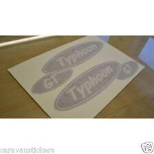 ELDDIS Typhoon GT - (STYLE 2) - Caravan Oval Sticker Decal Graphic