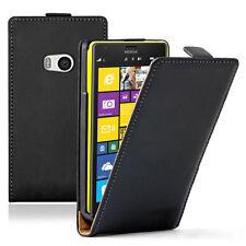 Etui Coque Housse PU Cuir Véritable Flip Cover pour Nokia Lumia 930