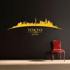 Tokyo Giappone Città Skyline-Camera da Letto Salotto Adesivo Wall Art