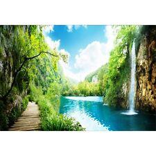Papier peint géant paysage cascade1583