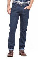 Lee Daren Braguette Zippée Coupe Standard Slim Leg Jeans Hommes Tapered Denim Pantalon Foncé Indigo